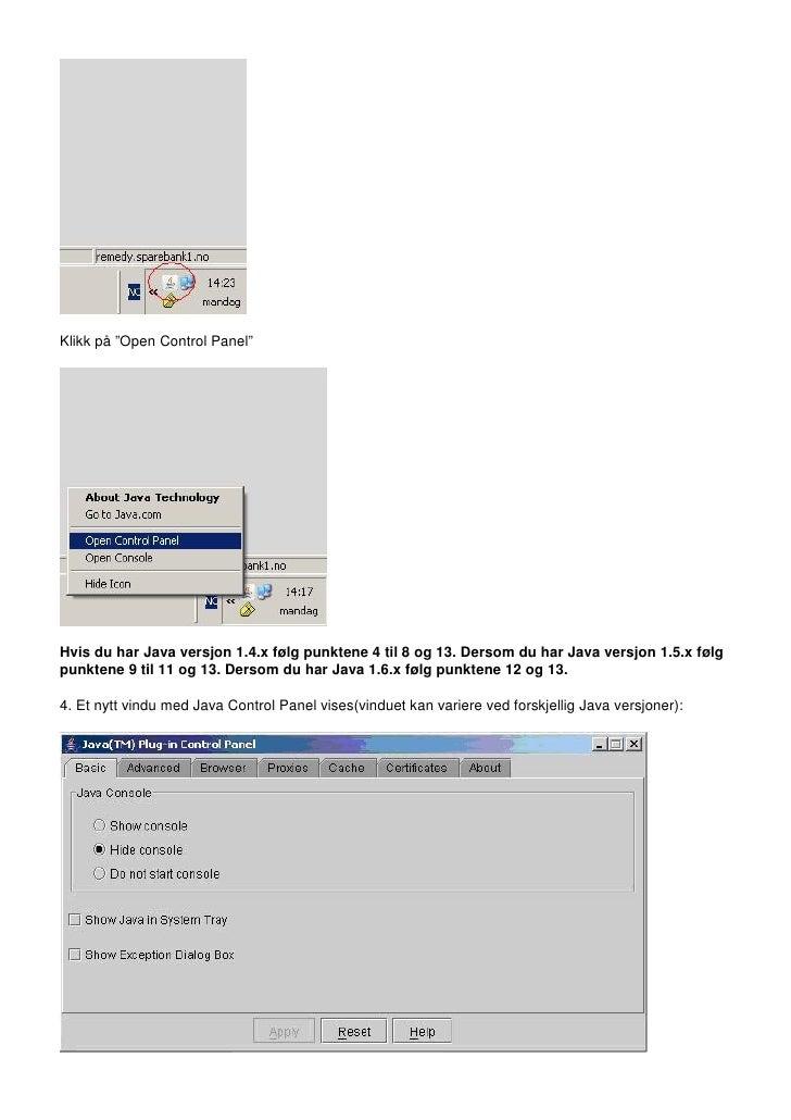 Hvordan slette midlertidige filer i Java kontrolpanel