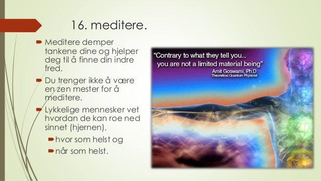 hvordan meditere Stavanger