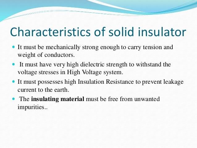 over head insulators