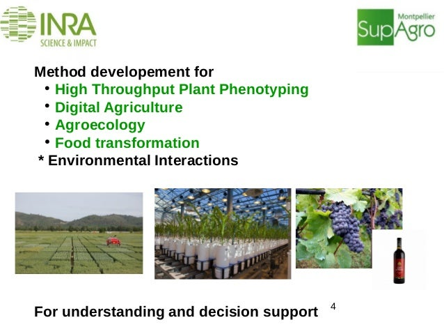 Method developement for  High Throughput Plant Phenotyping  Digital Agriculture  Agroecology ● Food transformation * En...