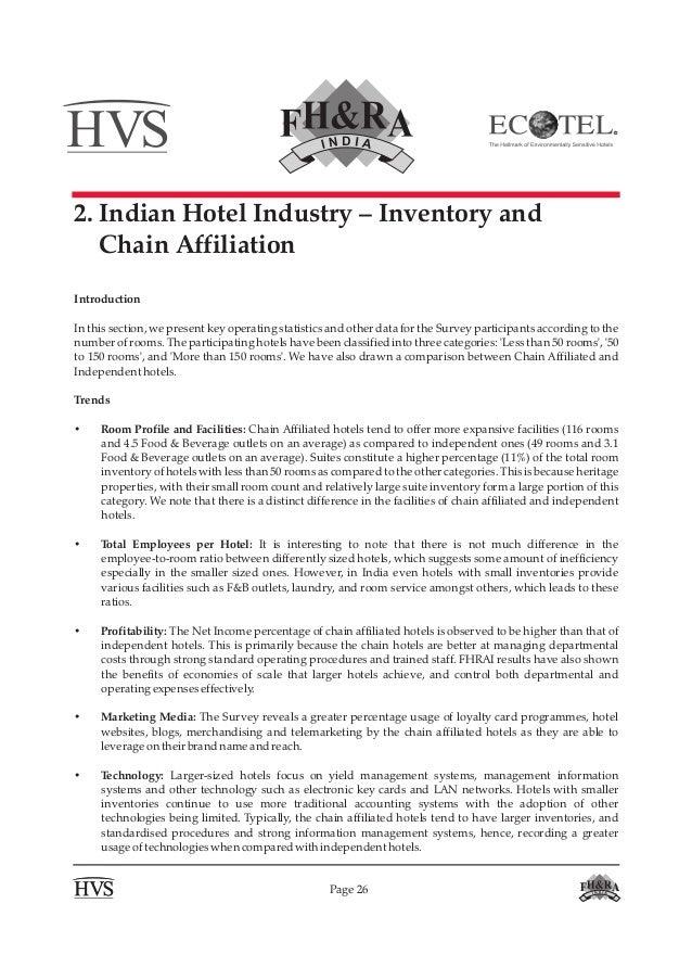 Hvs fhrai - indian hotel industry survey 2012-13