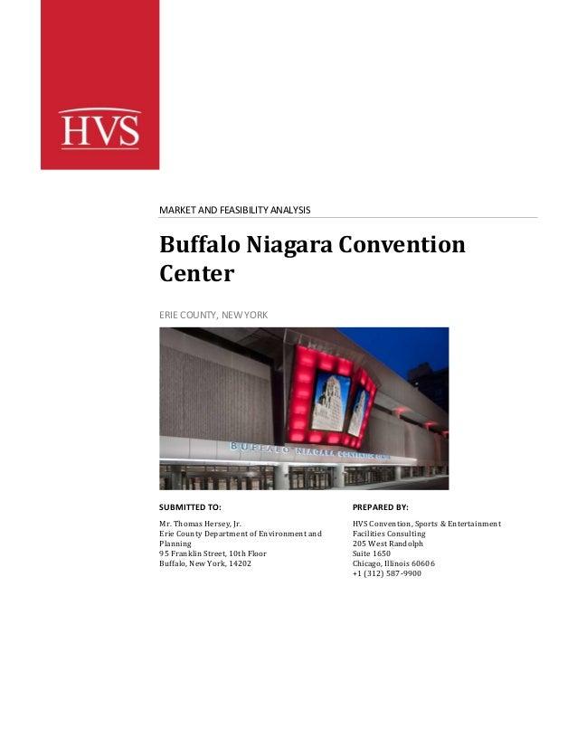 Buffalo Niagara Convention Center Study