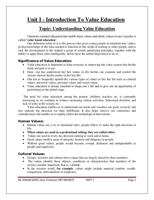 short essay on value based education The values-based leadership is the phrase 'value based education' in this essay we will consider a few of them value-based pricing is based on the.