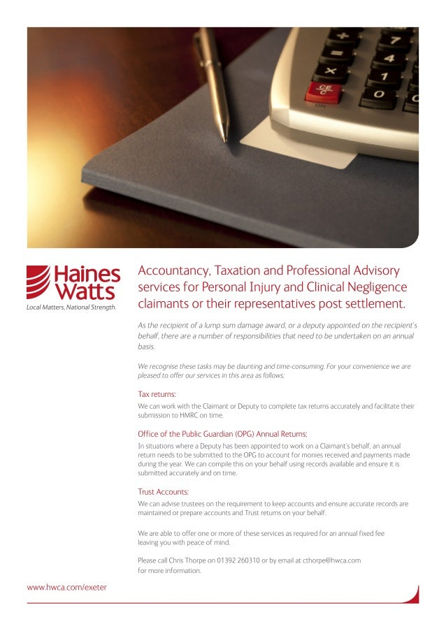 HW accountancy taxation professional-advisory