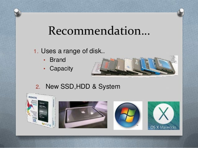 solid state drive versus hard disk The idea of using flash-based storage in a notebook isn't new nevertheless, the high cost of flash has prevented it from replacing hard-disk drives on mainstream notebook pcs, despite some.