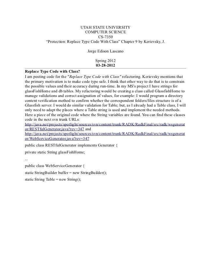 UTAH STATE UNIVERSITY                                    COMPUTER SCIENCE                                          CS-7350...