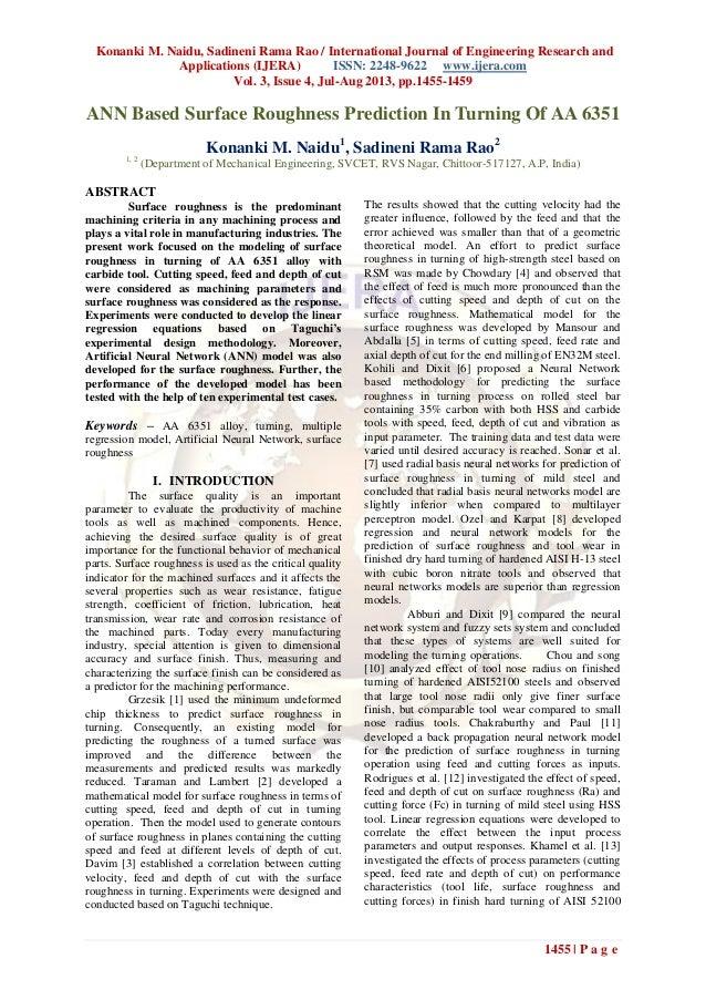 Konanki M. Naidu, Sadineni Rama Rao / International Journal of Engineering Research and Applications (IJERA) ISSN: 2248-96...
