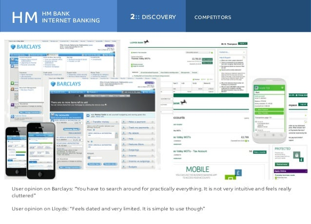 What is best in class in online banking right now