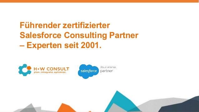 Führender zertifizierter Salesforce Consulting Partner – Experten seit 2001.