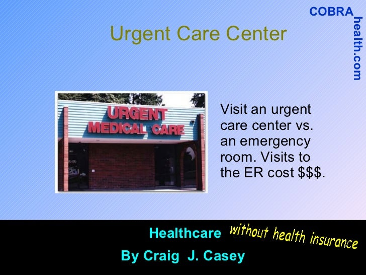 Cost To Hospitals For Uninsured Emergency Room Visits