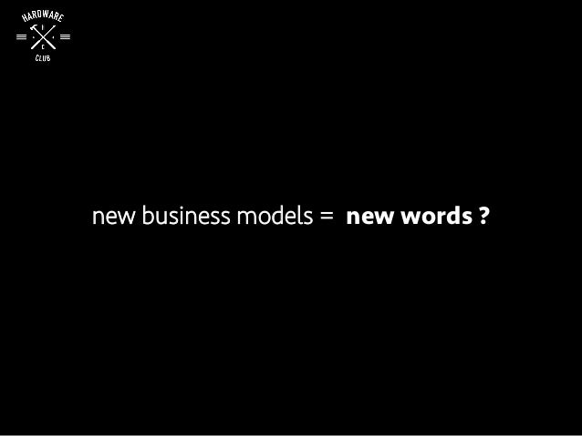 new business models = new words ?