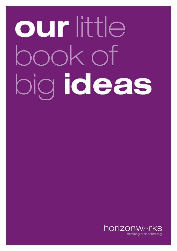 our littlebook ofbig ideas