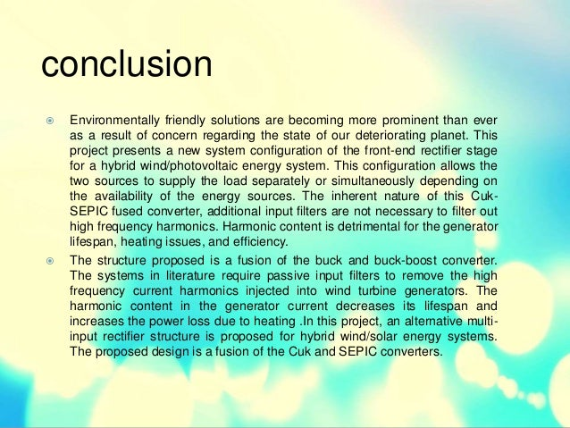 a conclusion for a solar energy essay