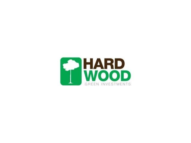 Apresentação Hardwood Green Investments - Shopping Binário