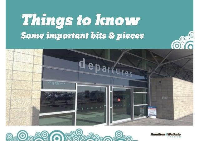 Sharing the Hamilton & Waikato Tourism Story Slide 2
