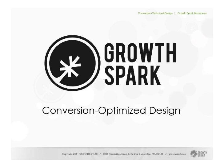 Conversion-Optimized Design Slide 1