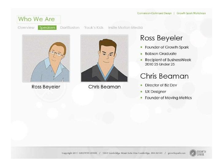 Conversion-Optimized Design Slide 3