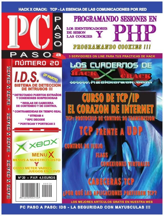 HACK X CRACK: TCP - LA ESENCIA DE LAS COMUNICACIONES POR RED LOS MEJORES ARTÍCULOS GRATIS EN NUESTRA WEB PC PASO A PASO: I...