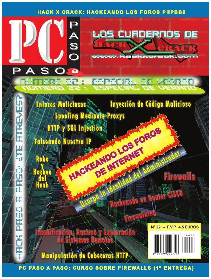 HACK X CRACK: HACKEANDO LOS FOROS PHPBB2                                            P                                     ...