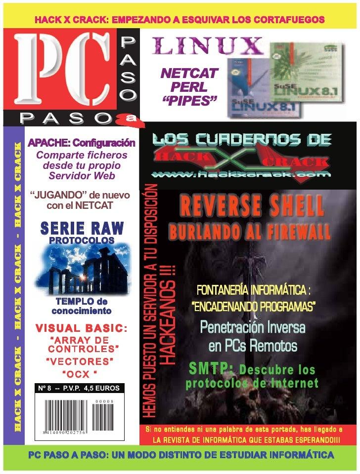 HACK X CRACK: EMPEZANDO A ESQUIVAR LOS CORTAFUEGOS                                                                        ...