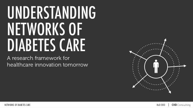 UNDERSTANDINGNETWORKS OFDIABETES CAREqHxD 2013NETWORKS OF DIABETES CAREA research framework forhealthcare innovation tomor...
