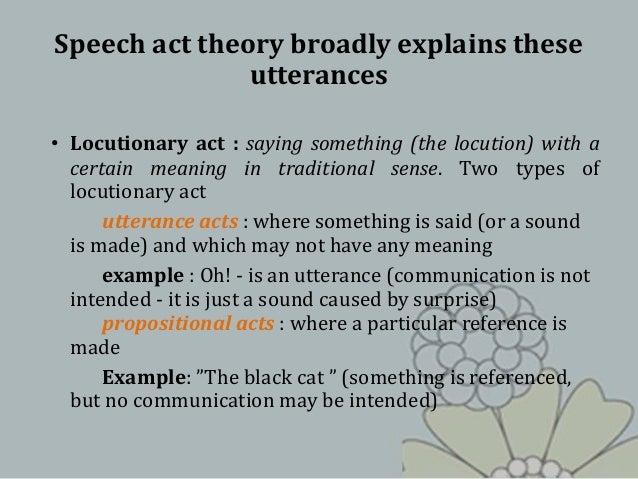 Hxe302 Speech Acts 1