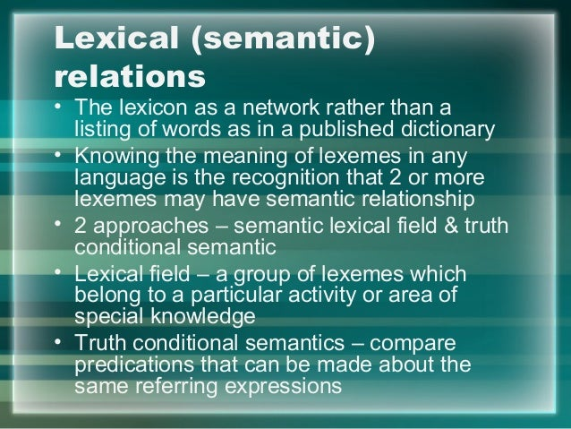 lexical semantics hyponyny networks White blood cell essays and research papers | examplesessaytodaybiz studymode - premium and free essays,  lexical semantics: hyponyny networks.