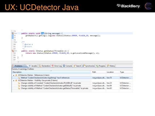 Eclipse Con 2015 Codan A C C Code Analysis Framework For Cdt