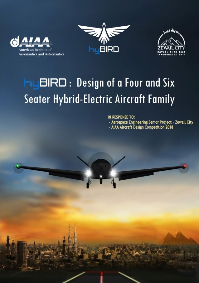 design of a four and six seater hybrid electric aircraft family