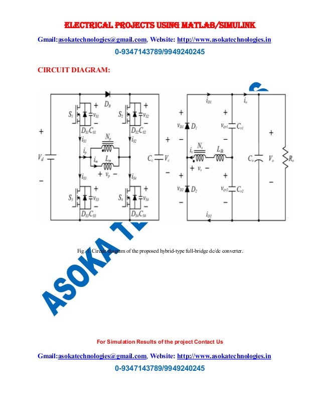 Hybrid type full bridge dc dc converter with high efficiency software matlabsimulink 2 ccuart Images