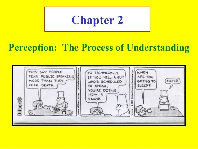 Chapter 2 Perception: The Process of Understanding