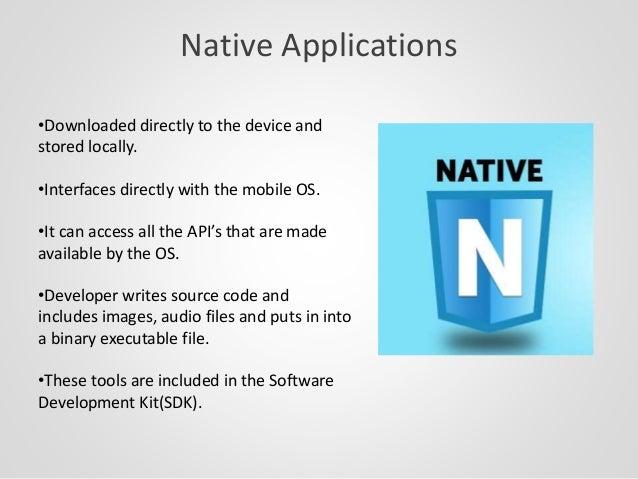 Hybrid app in ionic framework overview Slide 3