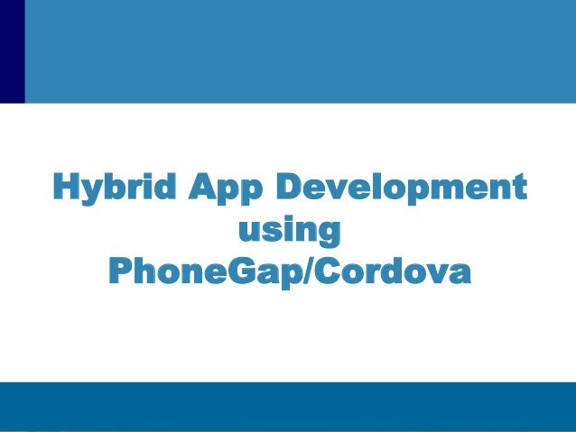 how to create app using phonegap