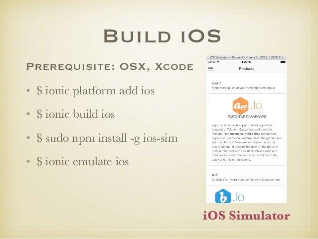 iOS debug https://github.com/google/ios-webkit-debug-proxy • Chrome DevTools and iOS simulator