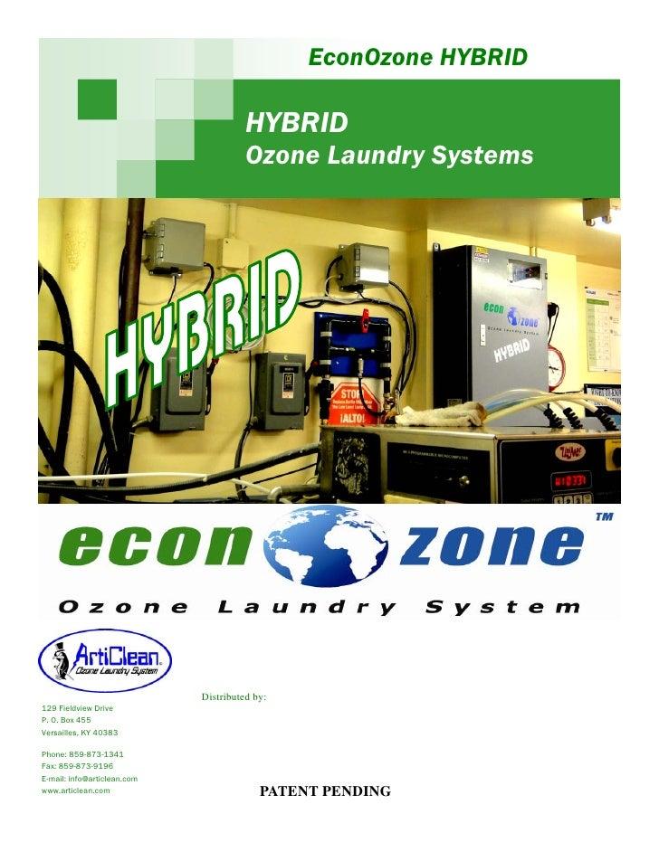 EconOzone HYBRID                                       HYBRID                                       Ozone Laundry Systems ...