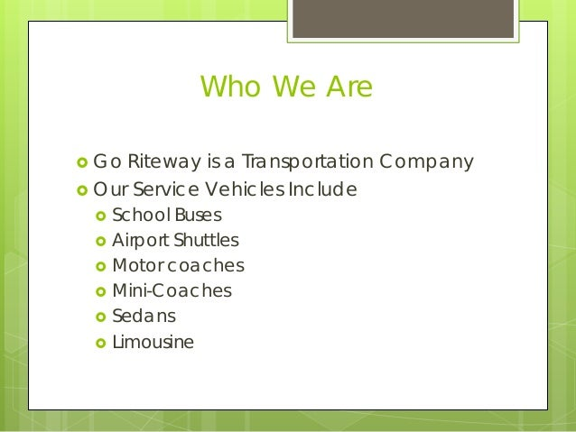 GO Riteway Transportation Group's Hybrid Fleet Experience
