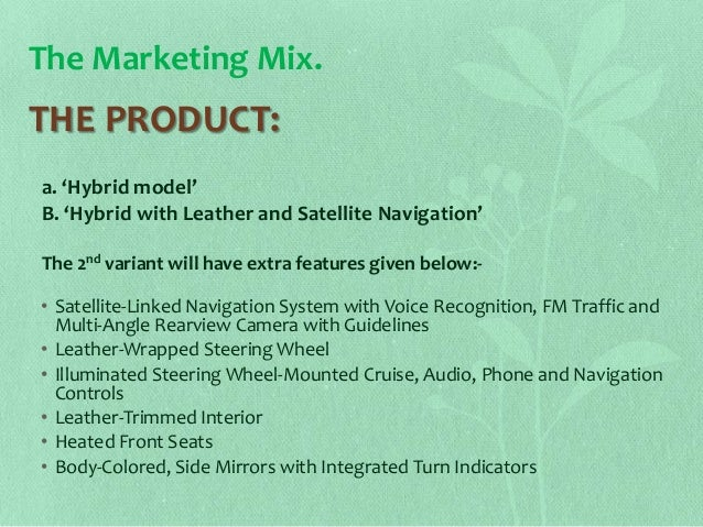 marketing plan for hybrid vehicle Marketing plan for vvca services (bicycle courier business) prepared by: dela paz, isaiah baguhin, sheryl castillo, jemuel sapolmo, nelia executive summary vvca services is a bicycle-based courier service serving city of makati attorneys and law firms.
