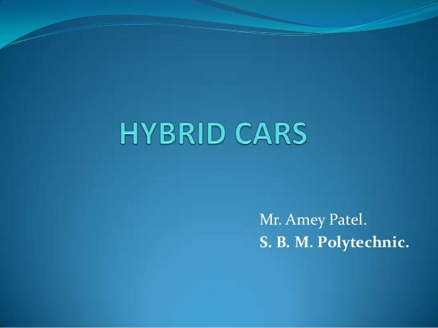 Mr. Amey Patel.S. B. M. Polytechnic.
