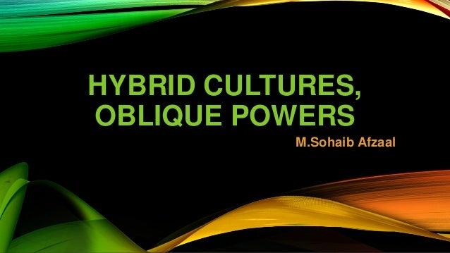 GARCIA CANCLINI HYBRID CULTURES EBOOK