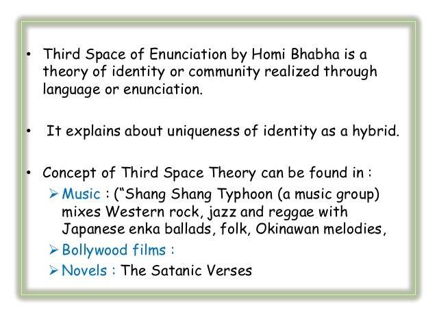 HOMI BHABHA THIRD SPACE EBOOK DOWNLOAD
