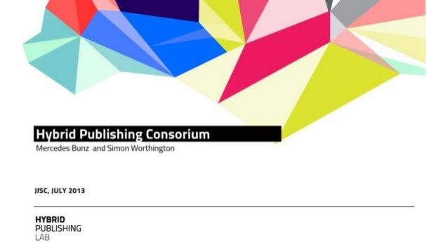 Hybrid publishing lab, mercedes bunz and simon worthington