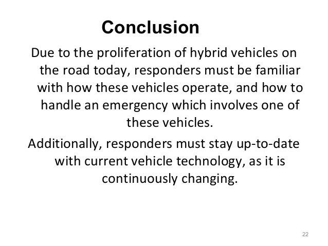 Why Hybrids Vehicles Are Better Than Gas