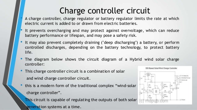 hybrid wind solar power generation system rh slideshare net
