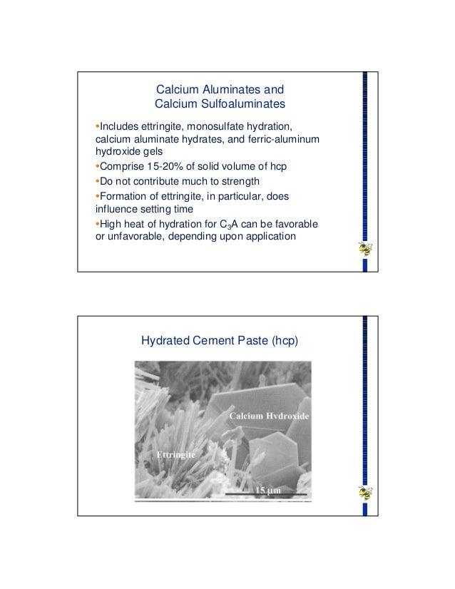 Calcium Aluminate Cement Applications : Hyd