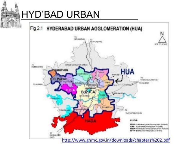 Hyderabad City Map Pdf