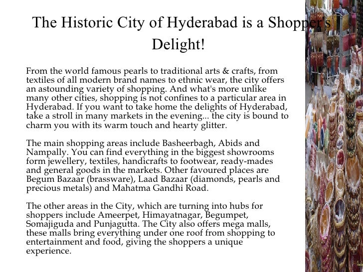 Hyderabad ppt