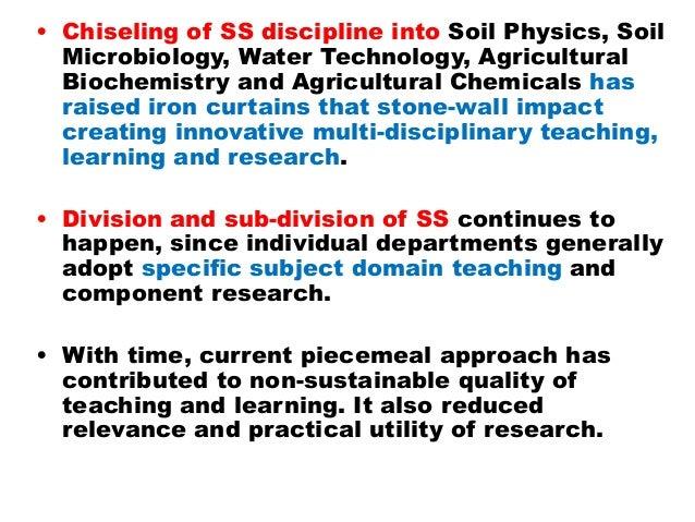 Strengthening soil science education by dr jc katyal for Utility of soil