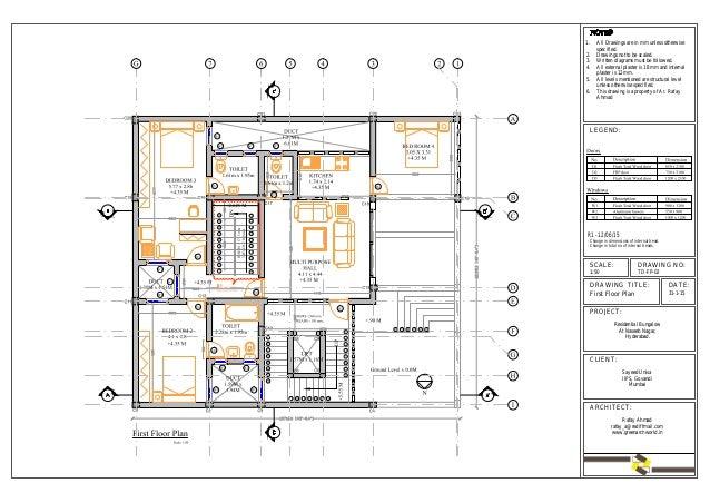 Architectural - Detail Design Drawings | Floor Plans Slide 3