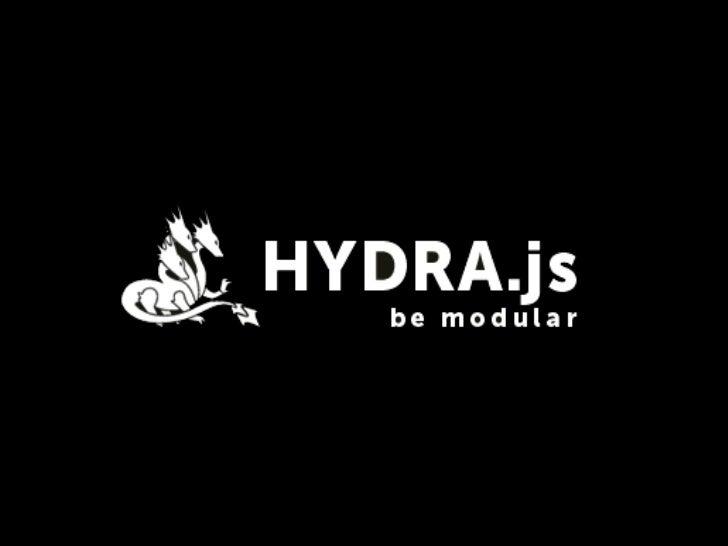 «Scalable JavaScript Application Architecture»Nicholas Zakas