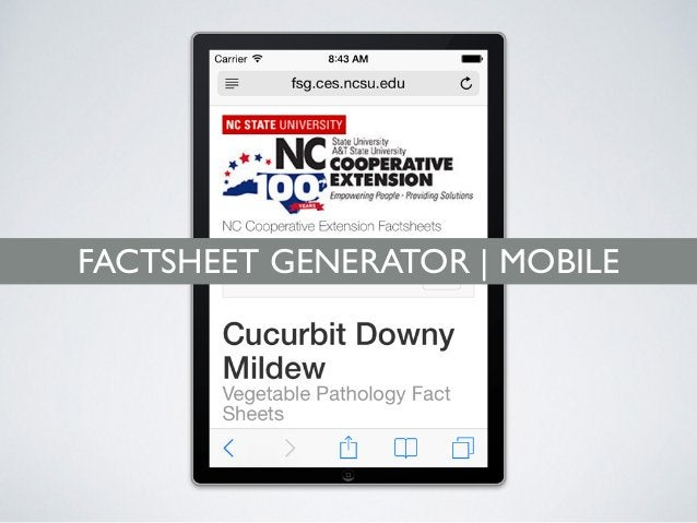 FACTSHEETS BECOME REUSABLE All the data entered into the FactSheet Generator are accessible via our FactSheet API*. That m...
